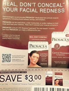#Rosacea #Prosacea® medicated gel #coupon
