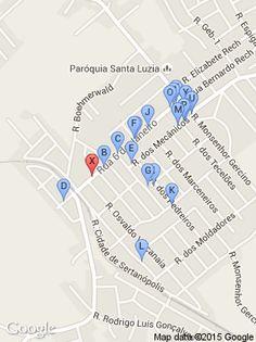 localização dos próximos Rua 6 Janeiro, 586 (Hugo Lino Aubertao - Paranaguamirim - Joinville Sc) em Joinville