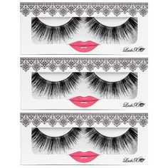 LashXO Lashes- Chika Lashes -3 PK Premium Quality False Eyelashes- Compare to Shu Uemura, MAC, Make Up For Ever, and House of Lashes ** To view further for this item, visit the image link.