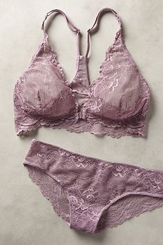 Samantha Chang Suzette Halter Bralette + Panties