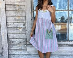 Bianca- dress-medium large-artsy-Eco Clothing-Upcycled Clothing-Free People and Anthropologie inspired-by Love HIGHER Handmade Clothing