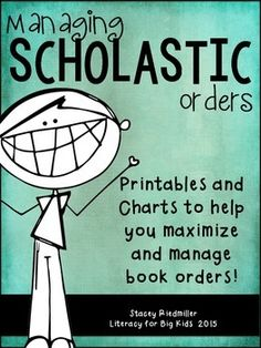 Need help keeping track of your Scholastic Book Orders every month? I was looking for something to keep all of our class information in one place and couldn't find anything like it.Enter the Book Order Organization Binder Kit. This kit has a ton of forms, parent letters, parent thank yous, and class tracking charts to keep you organized and your kids motivated!Please check out the preview!