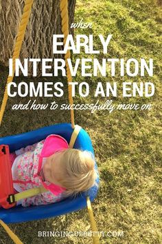 In most states in  the US, turning three means the end of early intervention for special needs kids. But it doesn't have to mean the end of progress. Here's one mom's take.