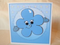 Items similar to Flower Great Friend Card Send A Hug UK Seller on Etsy Cards For Friends, Great Friends, Feeling Under The Weather, Sending Hugs, Say Hi, Friend Birthday, Handmade Gifts, Flowers, Etsy