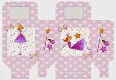 Princesa de las Hadas: Caja para Lunch, para Imprimir Gratis.   Ideas y material gratis para fiestas y celebraciones Oh My Fiesta!