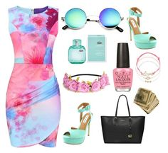 """~Summer 2016~"" by ingridnr1 on Polyvore featuring Steve Madden, Lacoste, OPI, MICHAEL Michael Kors and Accessorize"