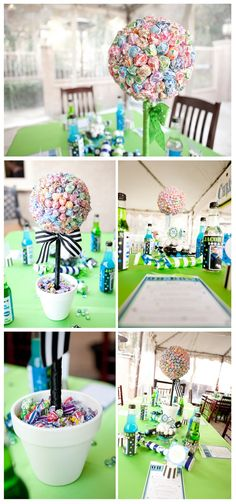 Dum Dum Tree for Baby Shower