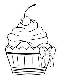 """Képtalálat a következőre: """"cupcake kleurplaat"""""""