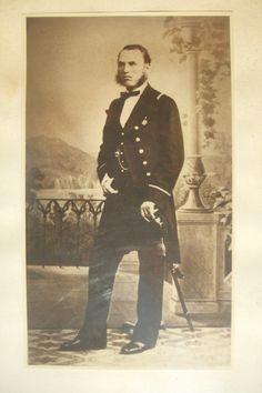 Leon Ahsbahs as marine adjutant. My great-grandfather