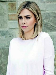45 Medium and Short Hairstyles for Thin Hair - 42 #ShortBobs