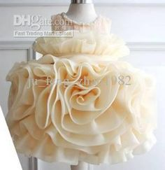 Wholesale New Flower Girl Dresses Kid's Princess Formal Party Dress Children TUtu Skirt Ball Gown Custom-made, Free shipping, $113.64/Piece | DHgate