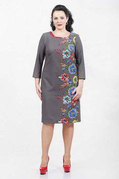 Платья и костюмы для полных женщин белорусской компании Madame Rita 2017