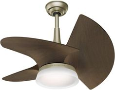 Buy the Casablanca 59138 Pewter Revival with Walnut Blades Direct. Shop for the Casablanca 59138 Pewter Revival with Walnut Blades Ceiling Fan - 3 Fan Blades and LED Light Kit Included and save. Blooming Orchid, Contemporary Ceiling Fans, Contemporary Style, 3 Blade Ceiling Fan, Fan Light Kits, Flush Lighting, Ceiling Lighting, Ceiling Fan With Remote, Outdoor Ceiling Fans