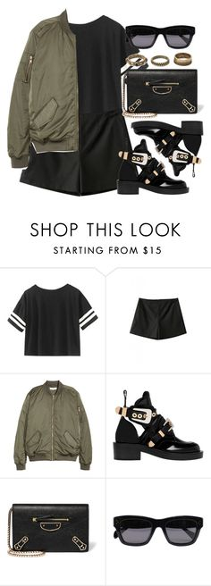 """Sin título #11932"" by vany-alvarado ❤ liked on Polyvore featuring Balenciaga, CÉLINE and Forever 21"