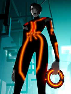 Paige from  Tron: Uprising