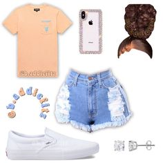 """✧ 𝙊𝙪𝙩𝙛𝙞𝙩 𝙄𝙣𝙨𝙥𝙤 ✧ on Instagram: """"Would you wear this? Comment down below ⬇️ Follow @b.addiefitz for more - Requested ❗️I did my layout differently and I kinda like it 🙈 -…"""" Outfits Teenager Mädchen, Swag Outfits For Girls, Cute Lazy Outfits, Cute Swag Outfits, Girls Fashion Clothes, Teenage Girl Outfits, Teen Fashion Outfits, Dope Fashion, Fashion Pants"""