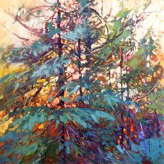 Bold colourful Oil paintings by Canadian Artist Sheila Davis Oil Painting Trees, Autumn Painting, Abstract Landscape, Landscape Paintings, Art Plastique, Tree Art, Beautiful Paintings, Artist Art, Painting Inspiration
