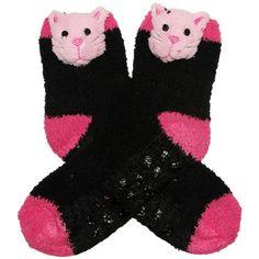 RSG Girls & Women's Animal Non Skid Slipper Socks (Solid Kitty) RSG http://www.amazon.com/dp/B00H30DBO2/ref=cm_sw_r_pi_dp_Nthcwb1G0DXDG