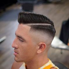 Comb Over Fade 40 Cool Haircuts For Young Men Best Mens Hairstyles 2020 Popular Mens Hairstyles, Cool Hairstyles For Men, Haircuts For Curly Hair, Curly Hair Men, Men's Hairstyles, Male Hair, Short Sides Haircut, Crop Haircut, Fade Haircut