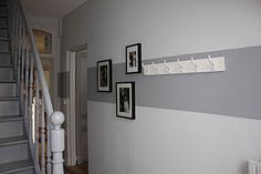 headband color corridor - New Deko Sites Entry Stairs, Stair Landing, Block Wall, Paint Effects, Light Decorations, Pattern Wallpaper, Room Interior, Home Furniture, Sweet Home