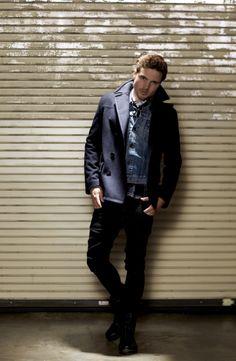 """The Indigo Story""  Model:  David Doss Wardrobe:  Emerson Aquino Photographer:  Kathe Hashimoto"