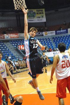 FilOil Flying V Preseason Hanes Cup Day 2 Recap  On the photo: Adamson's Rodney Brondial, who had a double-double last night
