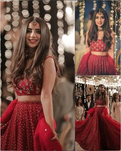 Indian Fashion Dresses, Indian Bridal Outfits, Indian Gowns Dresses, Indian Bridal Fashion, Dress Indian Style, Indian Designer Outfits, Prom Dresses, Wedding Lehenga Designs, Designer Bridal Lehenga