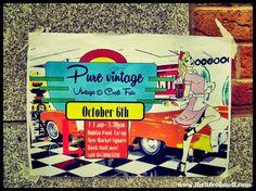 Pure Vintage Fair, Dublin Co-op, Newmarket, Dublin Dublin Food, Dublin Ireland, New Market, Wedding Trends, Open House, Irish, Health And Beauty, Events, Pure Products