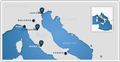 Leading Hotels of the World_Iconic Italy Map