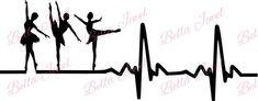 Ballet dancer SVG, ballet svg, dancer svg, heartbeat svg, my heart beats for… Dancing Drawings, Little Girl Dancing, Dance Art, Vinyl Crafts, Dance Photography, Ballet Dancers, In A Heartbeat, Vinyl Decals, Cricut