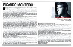 """""""Ricardo Monteiro"""", artigo publicado no jornal """"Meios e Publicidade""""."""
