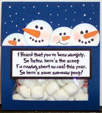 Snowman poop poem :)