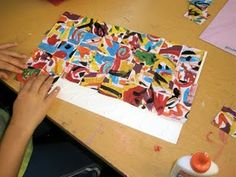 abstract, + lesson plan. This is way better than the non objective art lesson I do with 2nd graders!