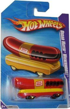 Hot Wheels Oscar Mayer Wienermobile by Mattel. $14.33. 2010 (c2009) Oscar Mayer Wienermobile. Red and Yellow. New in package
