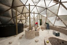 geodesic greenhouse | You can find out more about Mini University here on their site.