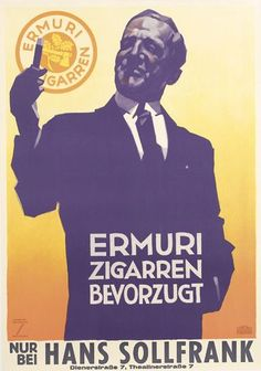LUDWIG HOHLWEIN (1874-1949) ERMURI ZIGARREN. 1935.