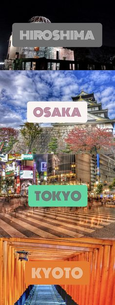 Ultimate Japan Itinerary. Travel I Tokyo, Osaka, Kyoto, Nara, Hiroshima, Miyajima, and Hakone.