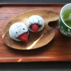 Daifuku och yukimi daifuku (mochi-glass) *Recept* - soja soja ingefära
