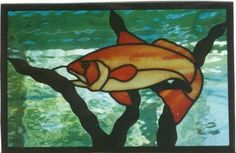 Redfish by Tina's Custom Stained Glass Studio