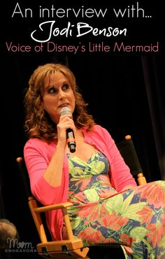 An interview with Jodi Benson, voice of Ariel in Disney's The Little Mermaid! Details on how she got the part, what she thinks of her role, and a video! via momendeavors.com