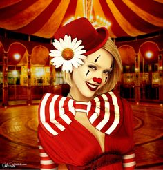 jessica alba clown - Worth1000 Concorsi