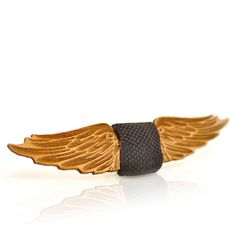 Wooden bow-tie. Fantasy collection, Phoenix. Men's bow ties, unisex bow-ties