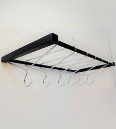hang-over hangers - diy idea