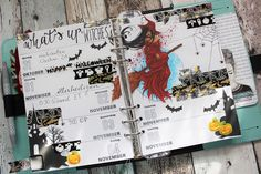 Creative Pages by amaryllis775: Filofaxing / What`s up witches?