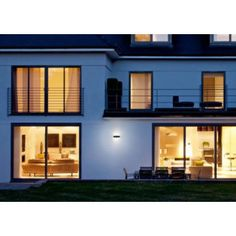 4058075074996 Ledvance LED wandlamp grijs 11W Outdoor Facade Belt Square Facade, Belt, Mansions, House Styles, Outdoor, Home Decor, Taps, Belts, Outdoors