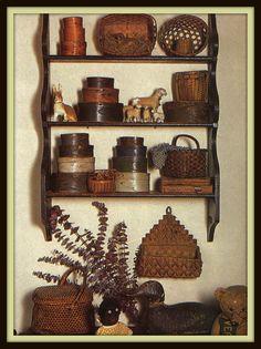 1000 Images About Primitive Shelf Displays On Pinterest