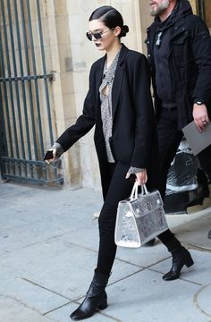 Kendall Jenner–and more of the top street style looks from fashion week