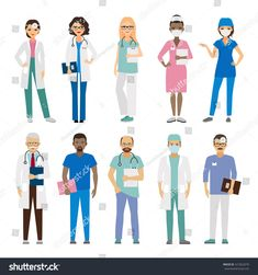 Find Hospital Medical Team Medical Staff Vector stock images in HD and millions of other royalty-free stock photos, illustrations and vectors in the Shutterstock collection. Doctor Drawing, Human Vector, Medical Icon, Top Photographers, Primary Care, Workout Challenge, Fashion Sketches, Royalty Free Stock Photos, Vector Stock
