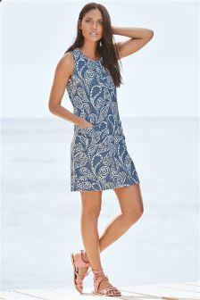 Linen Blend Dress (104340) | £22