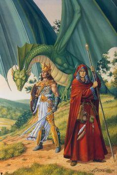 Larry Elmore - Dragonlance: Dragons of Autumn Twilight